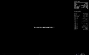 CrunchBang Linux Десктоп