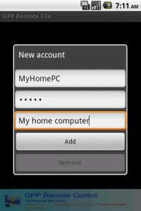 GPP Remote File Скриншот №2