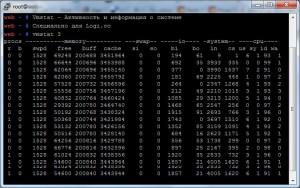 vmstat - активность и информация о системе