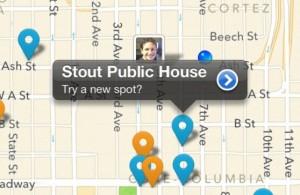 Apple планирует интеграцию карт с сервисом Foursquare