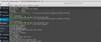 Как Это: Посмотреть версию Linux через командную строку